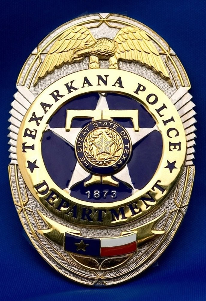The badge of the Texarkana, Texas Police Department