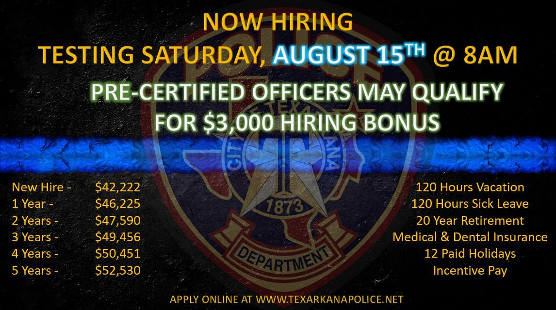 Recruiting Ad August 2020